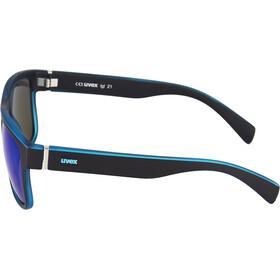 UVEX LGL 21 Aurinkolasit, black mat blue/blue